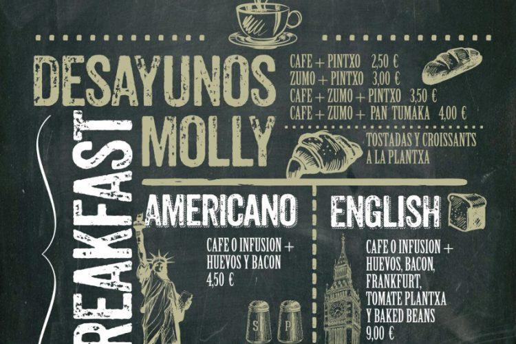 Los Desayunos en el Molly Malone molan máximo